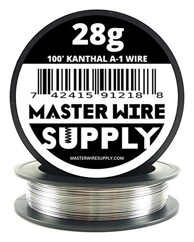 Kanthal A1 - 100 - 28 Gauge Resistance Wire