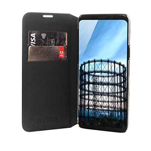 JT Berlin portatil de piel para Samsung Galaxy Note 8, compatible con Samsung Galaxy S9+; Samsung Galaxy S9 Plus