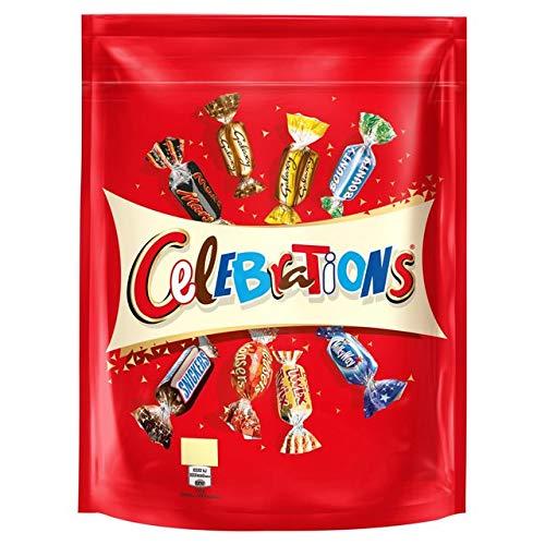 Celebration Chocolates (Mars Celebrations Chocolates 450g Pouch)