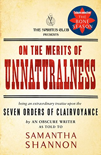 On the Merits of Unnaturalness (The Bone Season)