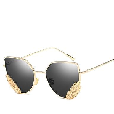 Chahua Metal europeo y americano cats eye gafas de sol ...