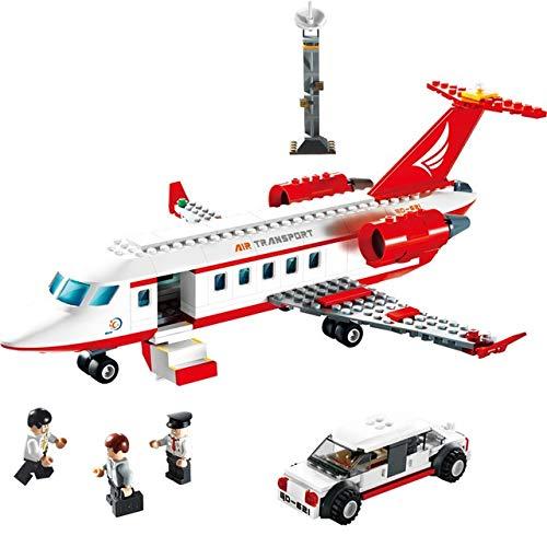 (GUDI Toy Bricks, Aerospace Series Building Blocks 8911-8913 Large Passenger Aircraft, Children's Educational DIY Spelling Toy (Style : Private Plane))