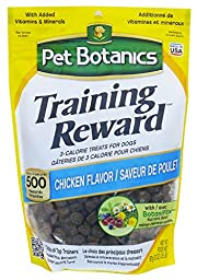 Pet Botanics Training Rewards Treats for Dogs, Chicken, 20-Ounce