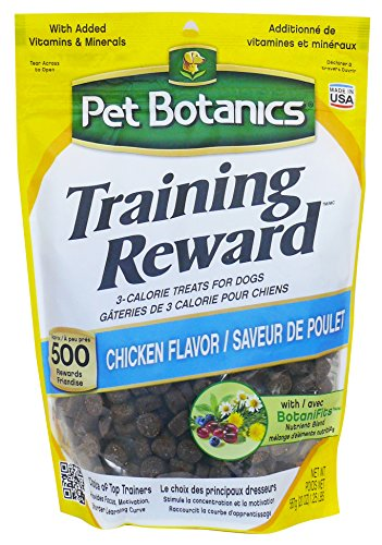 Pet Botanics Training Rewards Treats For Dogs, Chicken, 20-Ounce