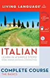 Italian Complete Course, Living Language Staff, 1400024161