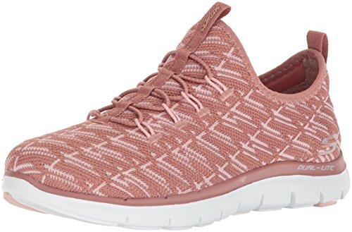 sin Rosa 0 Zapatillas 2 Rose Appeal Skechers Flex Cordones Insights para Mujer wqxOSYv