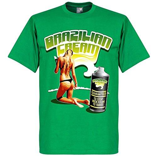 Brasilian Crema Maglietta, colore: verde