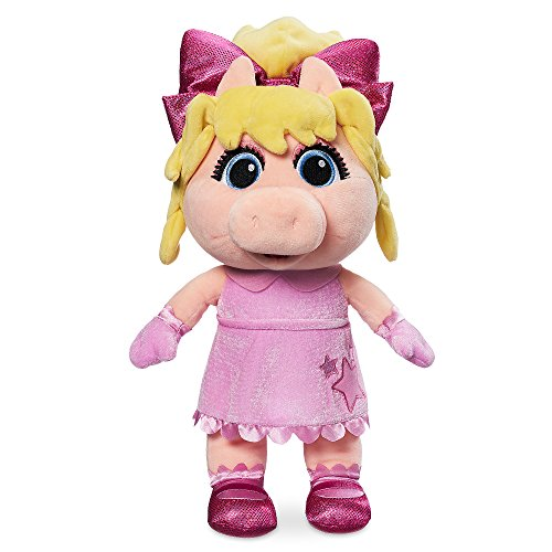 Disney Miss Piggy Plush - Muppet Babies - Small -