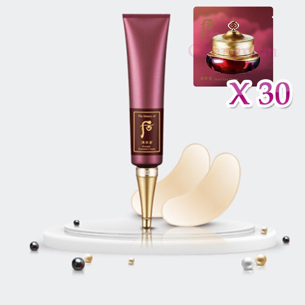 【フー/The history of whoo] Whoo 后 GYH06 Wrinkle Essential Cream/后(フー) リンクル液と 40ml + [Sample Gift](海外直送品)   B017G3MR7C