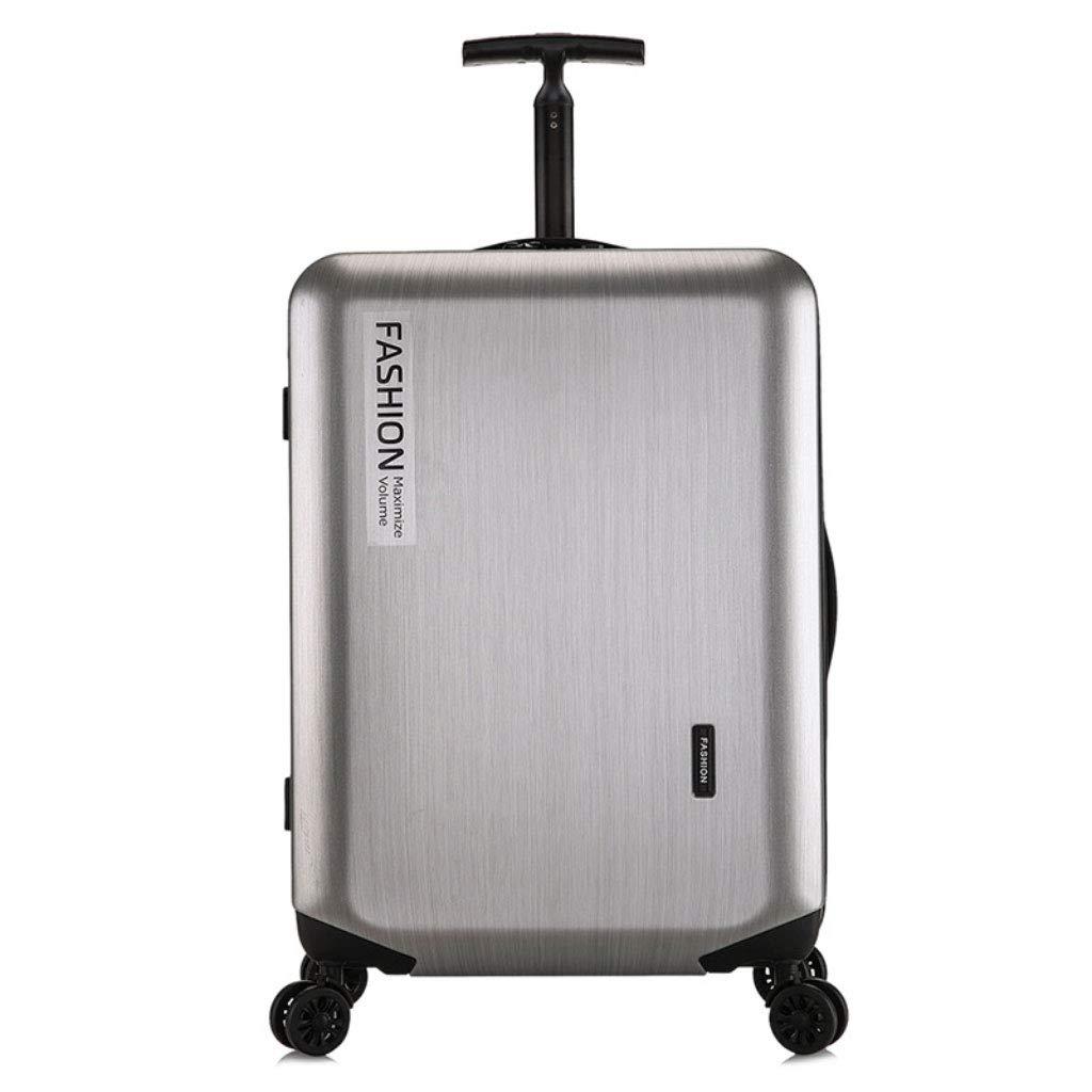 新しいトロリーケース、ファッションPCのユニバーサルホイールのパスワードスーツケース、旅行ビジネス20インチのビジネス搭乗 (Color : シルバー しるば゜, Size : 20 inch)   B07QZV5JLF