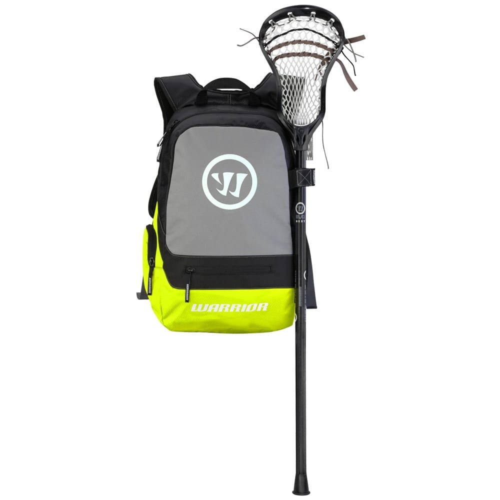 Warrior Jet Pack Tripper II Lacrosse Backpack Bag Neon Yellow