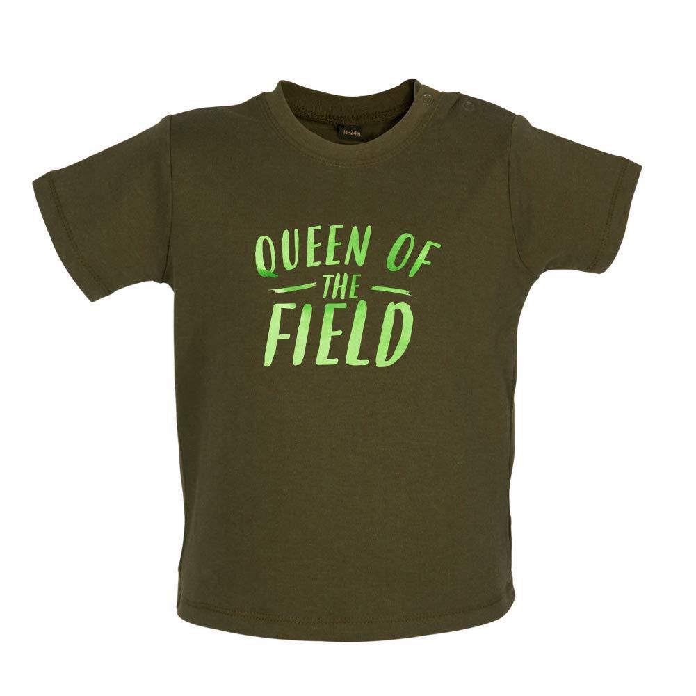 Baby T-Shirt 3-24 Months Dressdown Queen of The Field 8 Colours