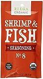 Riega Organic Shrimp and Fish Seasoning (Pack of 8)