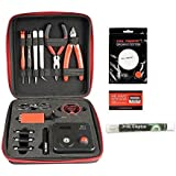 Coil Master 100% Authentic DIY KIT V3 Tool SET with Latest Coil Jig (V4) / 521 Tab Mini ohm reader / Tweezers / Heat Resistant Wire NEWEST Tool Kit, Exclusive LifeMods Bundle Edition