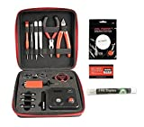 Coil Master 100% Authentic DIY KIT V3 Tool SET with Latest Coil Jig (V4) / 521 Tab Mini ohm reader / Tweezers / NEWEST Tool Kit, Great for Jewelry and Home Repairs Exclusive LifeMods Bundle Edition