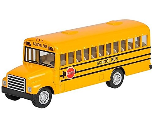 Die Cast Metal Toy School Bus 5
