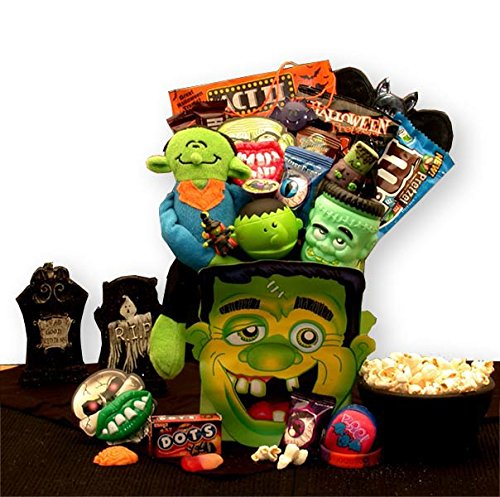 Monster's Ball Halloween Gift Basket of Spooky Treats