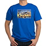 CafePress - Yuma Arizona AZ Greetings Ash Grey T-Shirt - Men's Fitted T-Shirt, Stylish Printed Vintage Fit T-Shirt