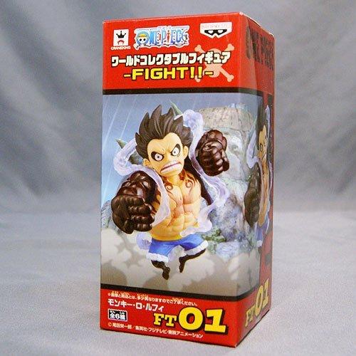 ワンピース ワールドコレクタブルフィギュア -FIGHTFT01:モンキーDルフィ バンプレスト プライズ B01D5UX9VS