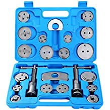 DASBET 22pcs Heavy Duty Disc Brake Caliper Tool Set and Wind Back Kit for Brake Pad Replacement