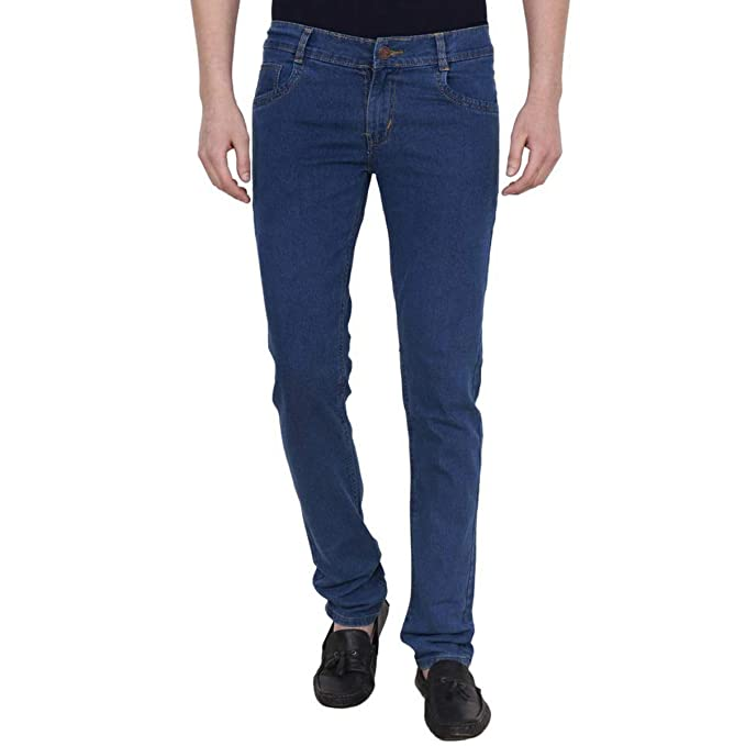 aa9c9273 FunTree Men's Stretchable Jeans | Slim Fit Jeans for Men: Amazon.in:  Clothing & Accessories