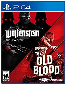Amazon com: Wolfenstein: The Two-Pack - PlayStation 4 [video game