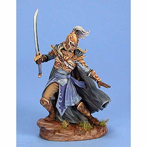 Male High Elf Warrior Miniature Visions In Fantasy Dark Sword Miniatures -