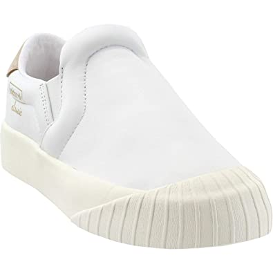 f839f54aaa4 adidas Womens Everyn Slip-on Casual Athletic   Sneakers White