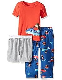 Little Boys' 3-Piece Pajama Set