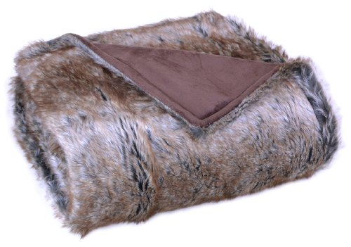 Bedford Cottage Luxurious Eskimo Faux Fur Throw, (Eskimo Faux Fur)