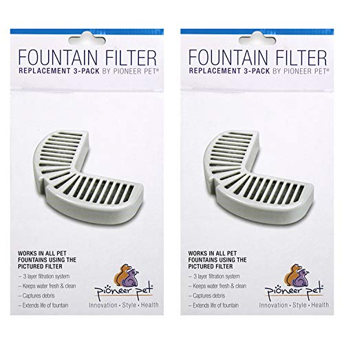 Pioneer Pet Replacement Filters for Ceramic and