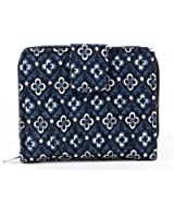 Bella Taylor Claremont Quilted Cotton Small Wallet