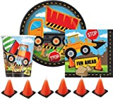 Construction Themed Birthday Party Supplies