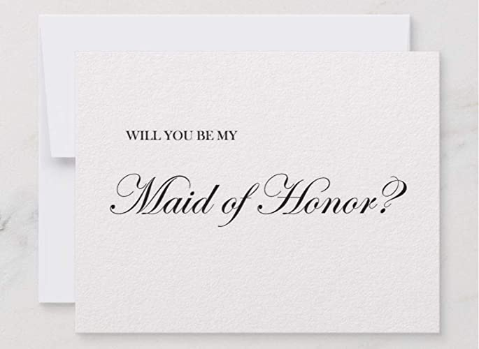 amazon com will you be my bridesmaid card will you be my maid of