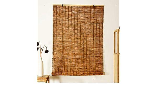 YUANJJ Persianas De Bambú Cortina Enrollable Hechas De CañA De ...