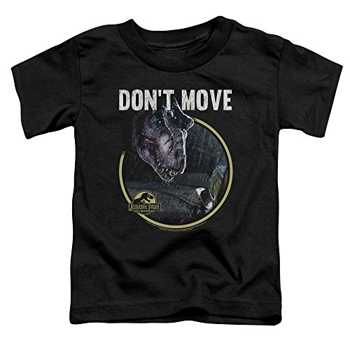 Jurassic Park Dont Move Unisex Toddler T Shirt for Boys and Girls