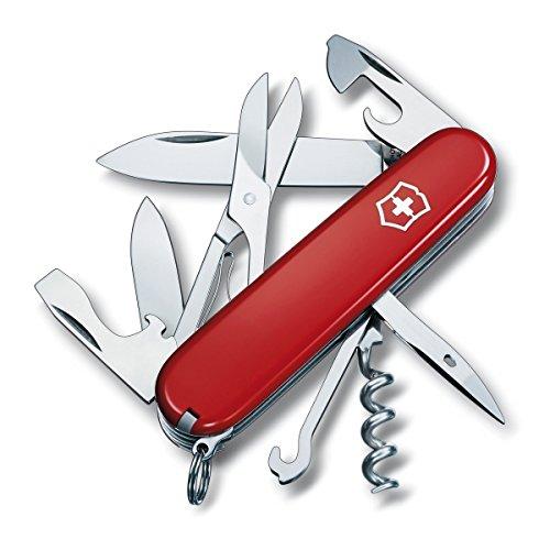 Victorinox Original Swiss Army Climber Pocket Knife (Red)