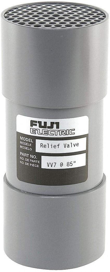 FUJI ELECTRIC, 6-1/4 In. Vacuum Blower Relief Valve