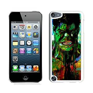 Hot Sale iPod Touch 5 Case ,Beautiful Unique Designed Case With Hulk 50 White iPod Touch 5 Cover