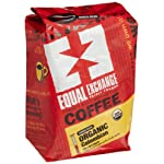 Equal exchange organic coffee, colombian, whole bean, 12-ounce bag (pack of 3) 2 full city roast whole bean coffee fairly traded