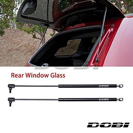 amazon com vioji new 2pcs rear window glass hatch black steel gas rh amazon com