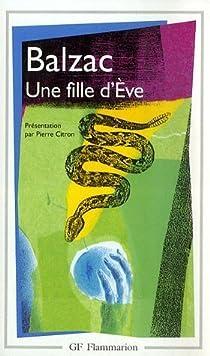 Une fille d'Eve par Balzac