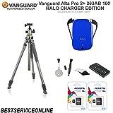 Vanguard Alta Pro 2+ 263AB 100 Tripod HALO CHARGER Edition KIT