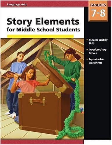 Amazon Story Elements Middle School Gr 7 8 0087577911007