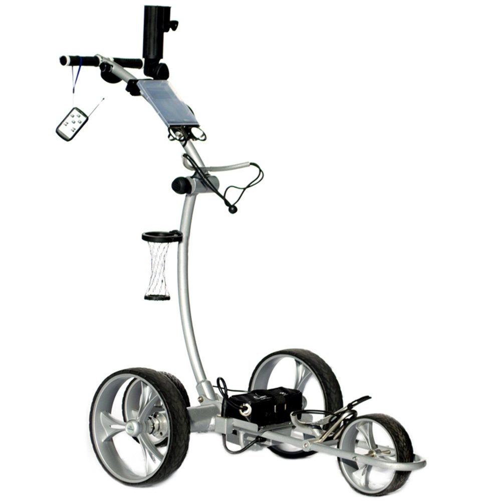 Cart Tek Gri-1500Li (Silver) Remote Power Electric Golf Caddy Black Friday 2019 Deal