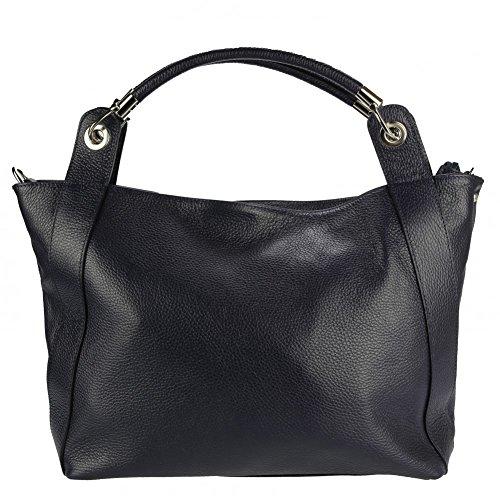 Olivia, sac à main femme bleu marine