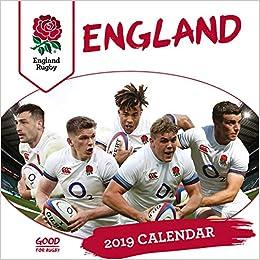 England Rugby Union Official 2019 Calendar - Square Wall Cal por England Rugby Union epub