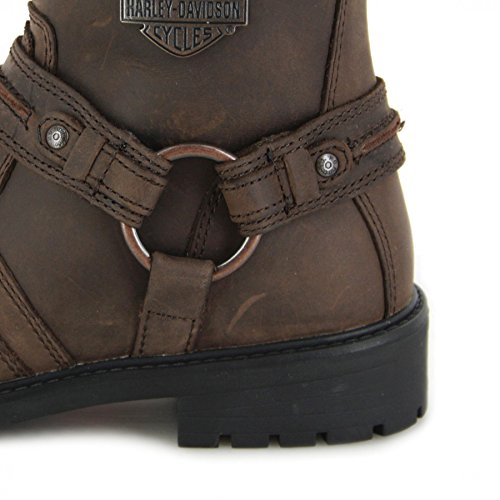 Abner Boots Harley Abner Boots Brown Davidson Leather Leather Mens Davidson Mens Brown Harley HSnnZdxwPq