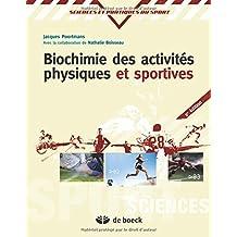 Biochimie activites phys.  2/e