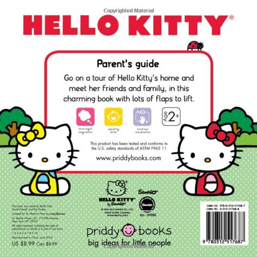Hello Kitty: My Home Lift-The-Flap Tab: Amazon.es: Roger Priddy: Libros en idiomas extranjeros